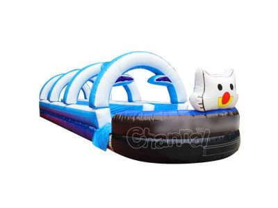 commercial double lane inflatable slip n slide for sale