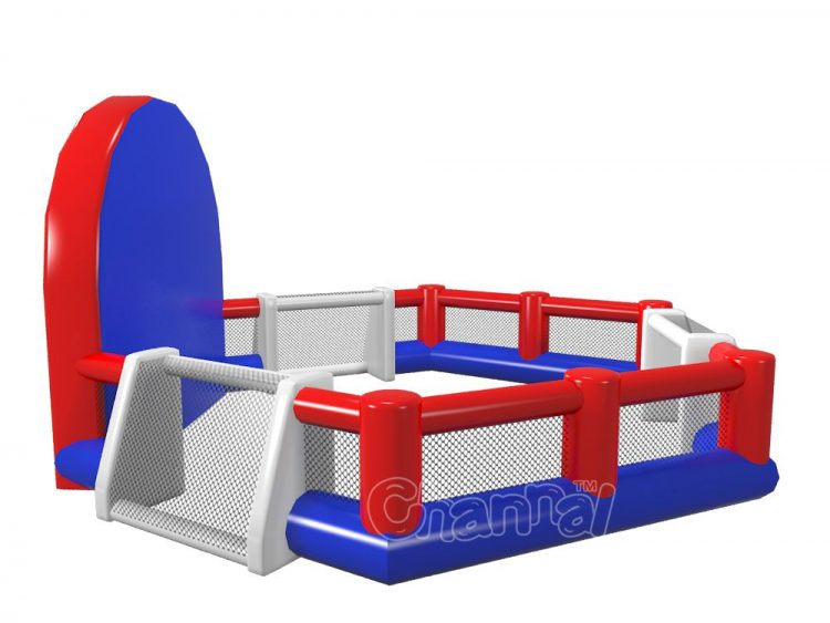 three sided football pitch inflatable