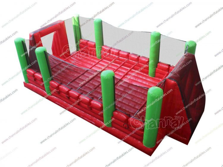 large inflatable human foosball court for sale