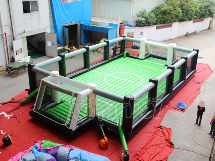 inflatable football arena for kids