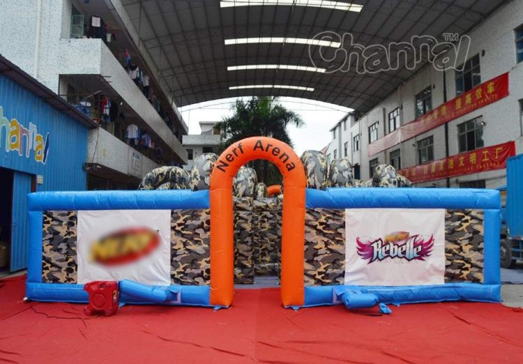 inflatable nerf battle for sale