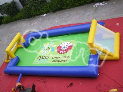 small inflatable football sport field