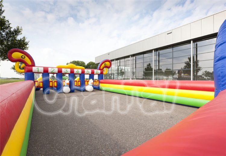 inflatable horse racing game