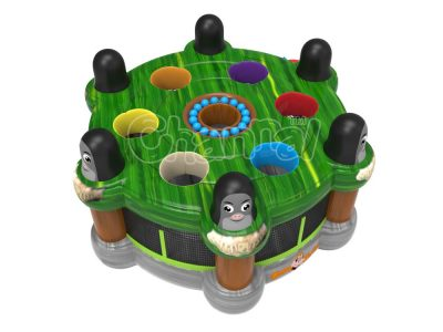 human whack a mole inflatable