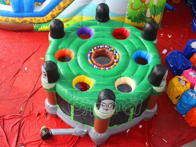 inflatable whack a mole game for sale
