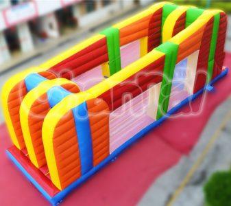 inflatable z-rider zipline