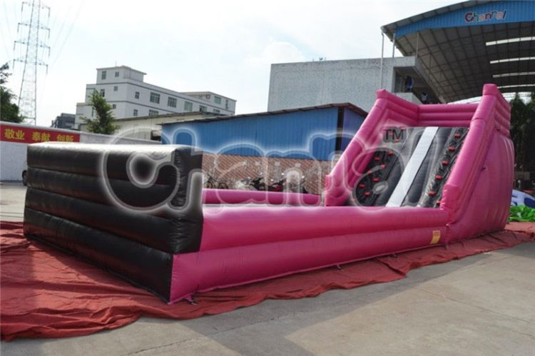 inflatable zorb ball ramp race track