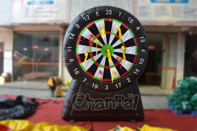 inflatable dart board game
