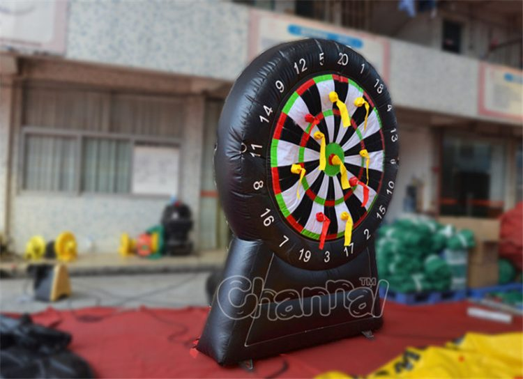 inflatable dart board for carnival game