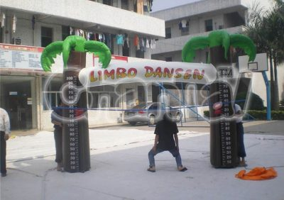 inflatable limbo dancer game