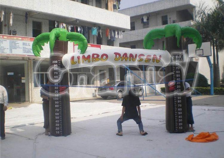inflatable limbo dancer game