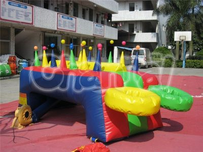 inflatable floating ball hot potato game