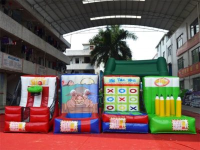 cheap 4-in-1 inflatable games