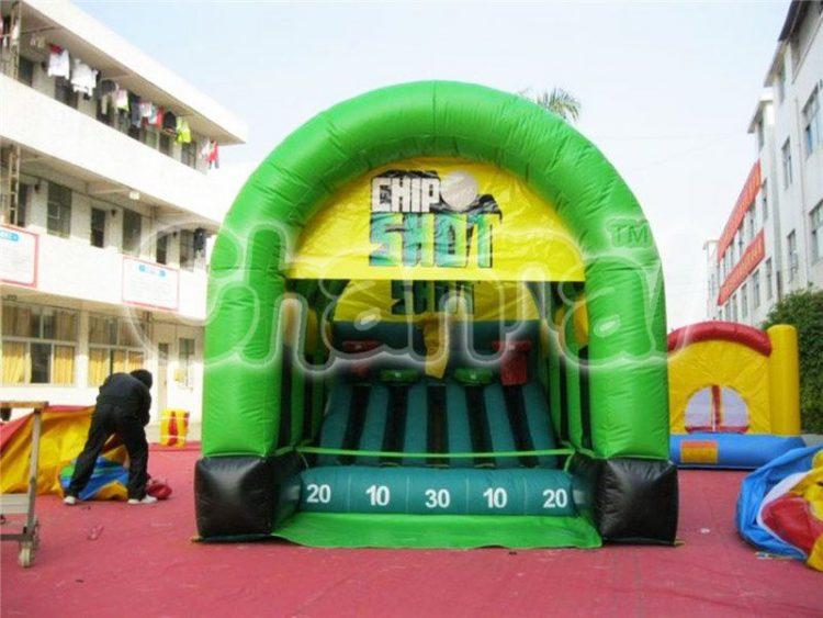 inflatable golf chip shot game for kids