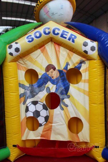 soccer shooting side