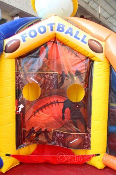 football toss side