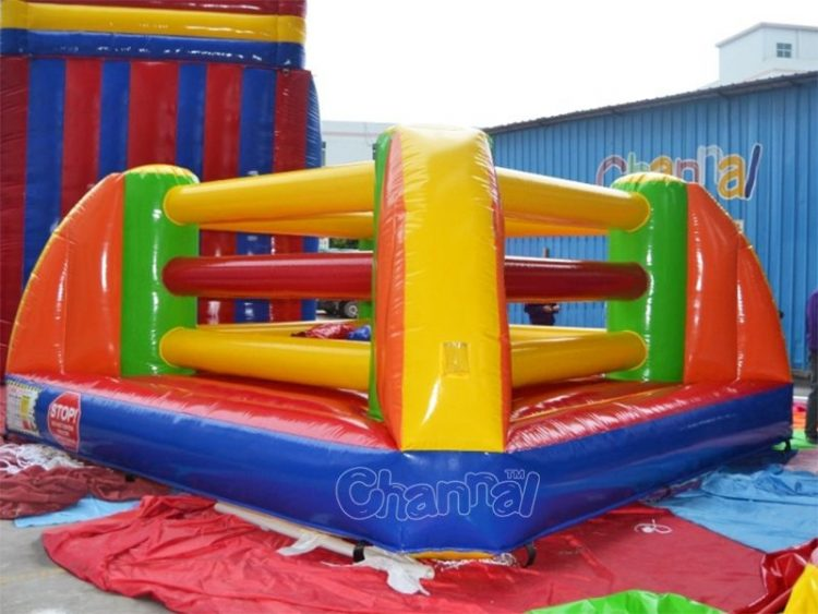 inflatable bouncing boxing ring
