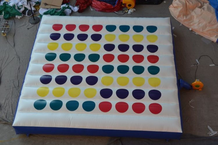 inflatable twister game for kids