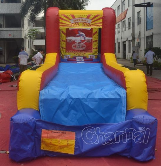 inflatable skee ball game for sale