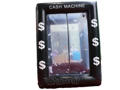 inflatable money booth