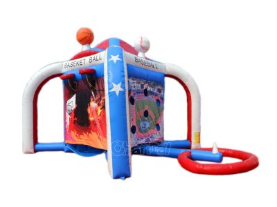 4-in-1 inflatable sports games