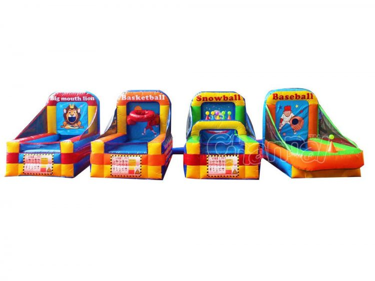 4 inflatable games set