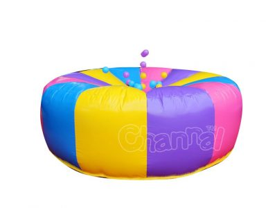 inflatable hook the duck ball game
