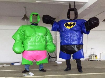 batman and hulk sumo wrestling suits for sale
