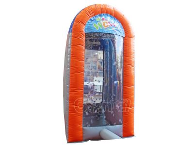 inflatable cash catching machine for kids and adults