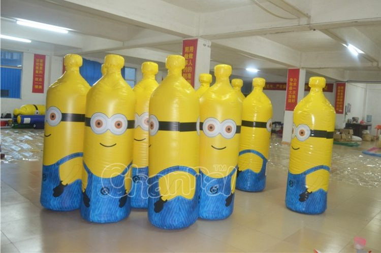 minion inflatable 10 pin bowling
