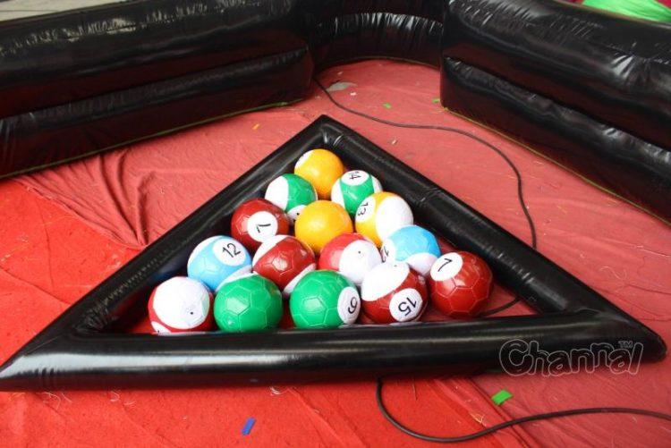 15 rotation pool soccer balls