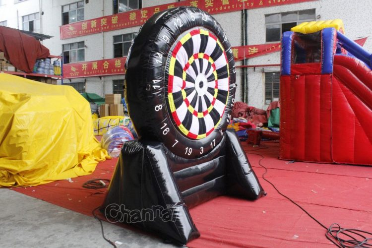 large velcro dart board game
