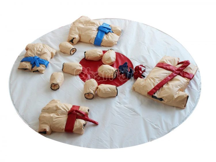 padded sumo suits set for adults and kids
