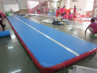 Cheap Gymnastics Inflatable Tumble Track For Sale