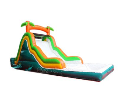 small inflatable water slide for kids