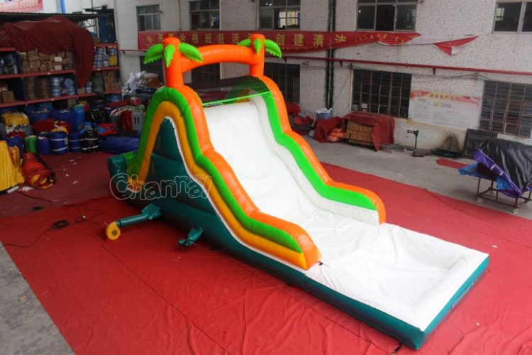 cheap small inflatable water slide