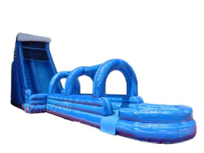 inflatable water slide and slip n slide combo