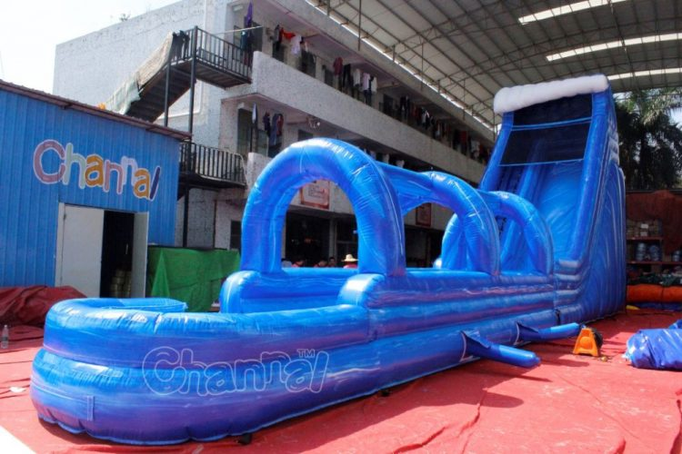 industrial commercial slip n slide water slide