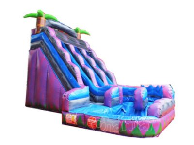 double lane inflatable water slide for sale