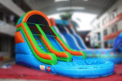 small blow up water slide for kids