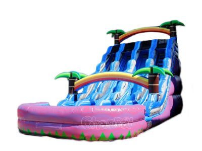 3 lane inflatable water slide for sale