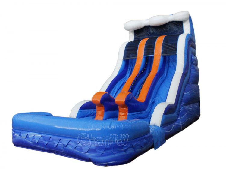 17 ft double water slide for sale