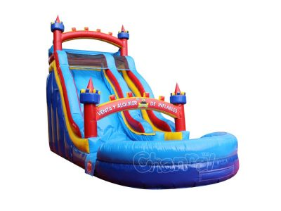 castle theme water slide for sale
