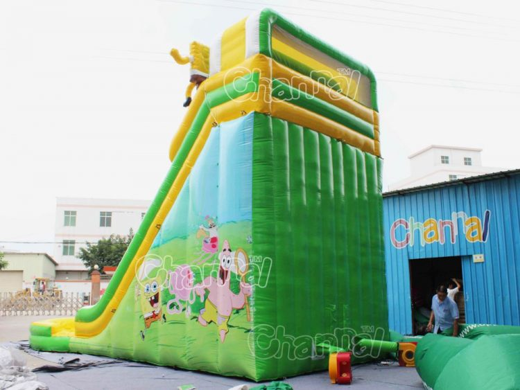 spongebob water slide for sale