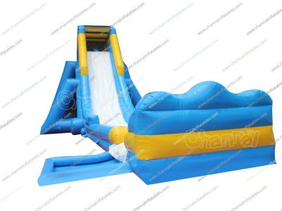 giant and longest hippo inflatable water slide