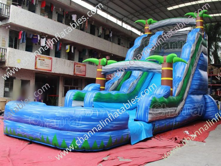 22 ft tropical water slide for sale