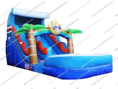 sunshine ocean inflatable water slide