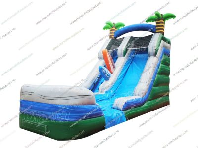 beach inflatable water slide