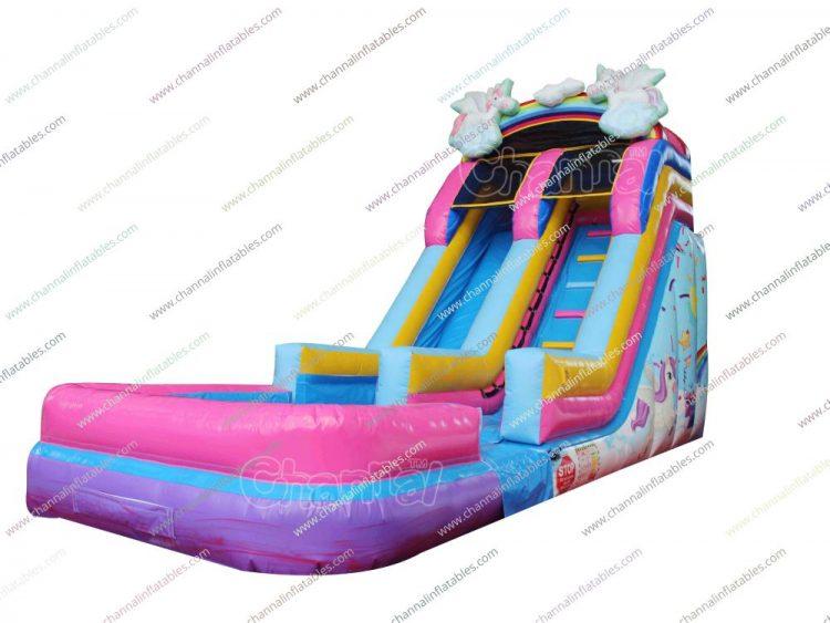 unicorn water slide