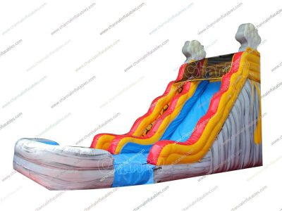 commercial water slide